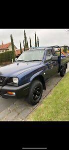 2002 Mitsubishi Triton Glx 4 Sp Automatic C/chas
