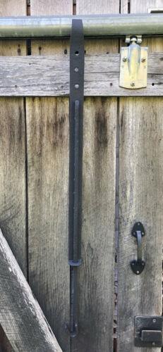 Antique Hand Forged Wrought Iron Fireplace Trammel Adjustable Pot Hook 002