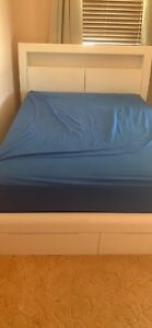 Double Beds - Bed Shed - Beside 1x black 1x white (priced each)