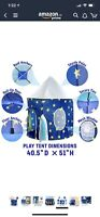 Kids Rocketship Play Tent - Ages 3+