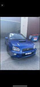 2003 Subaru Impreza Wrx (awd) 5 Sp Manual 4d Sedan