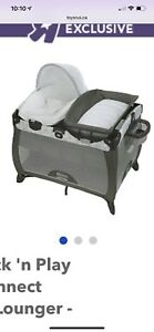 Graco Playard , bassinet and change table