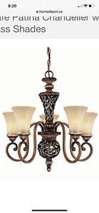 EUC chandelier