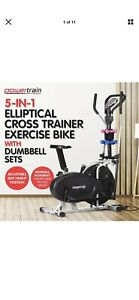 Cross Trainer Elliptical with Exercise Bike