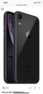 iPhone XR Black 128gb barely used!