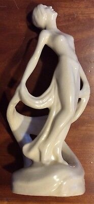 """Copy Of Cowan pottery Art Deco """"Repose"""", from the 1920's. As-is..."""