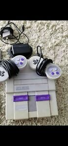 Super Nintendo with a couple games!