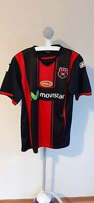 ALAJUELENSE SPORTS LEAGUE FOOTBALL SHIRT COAST RICA L LARGE SPORTS L.D.A image