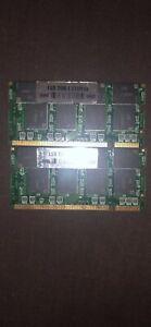 2 GB (2x1gb) DDR - 1 RAM sticks