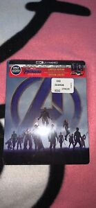 4K Avengers End Game Steel Book (Brand New)