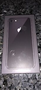 Brand new iPhone 8 in box 64gb Rogers