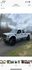 """2008 Ford F-250 XLT - Lifted with 37""""s"""