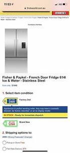 Fisher & Paykel French door fridge
