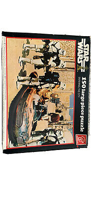 Star Wars Vintage 1977 Puzzle Entering The City 150 Pieces Complete & Boxed