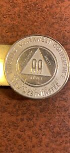 1967 Pacific Northwest A.A. Conference money clip
