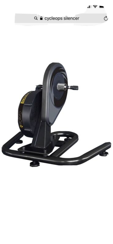 """New Open Box CycleOps """"The Silencer"""" (Direct Drive) Bicycle Trainer"""