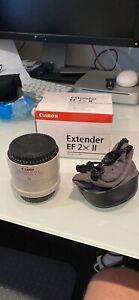 Canon lens extender Ed 2x II