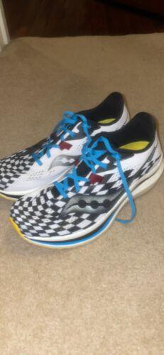 Men's Saucony Endorphin Pro 2, Royal / Black / Reverie Running Shoes – Size 9.0