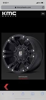 "4x4 tyres and rims. 20"" XD series wheels w Nitto Grappler A/T Northbridge Willoughby Area Preview"