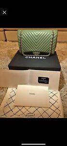 Chanel double flap shoulder bag