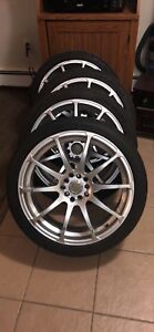 IKON alloy wheels 18inch universal fitment (firm)