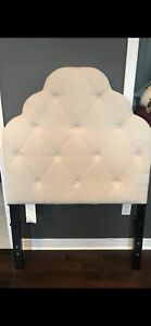 Pier One Headboard and metal frame