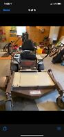 "Zero turn lawn mower 48"" cut"