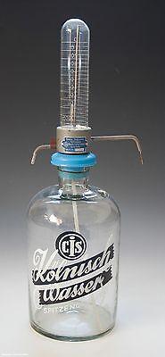 Drogerie Thekenflasche CIS Kölnisch Wasser um 1955-1960