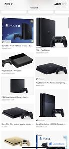 New PlayStation 4 with head set