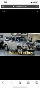 Wanted: Nissan patrol Gu ti manual wanted to buy