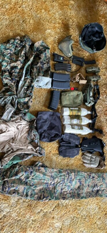 used airsoft gear