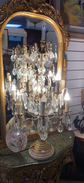 Vintage Chandelier Table Lamp, Chandelier Table Lamps Australia
