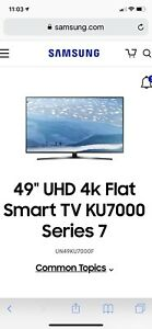 Samsung UHD 49' Smart TV