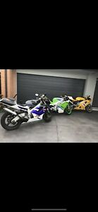 Collection of 2 stroke road bikes. RGV , NSR , TZR , KR ,KR1 , RZ