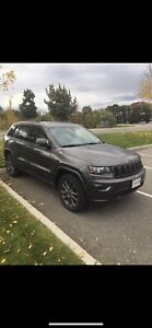 17 Jeep Cherokee 75yr Ann*Low KM*Private Sale*Clean*No Winters*