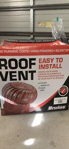 Brutus roof vent black