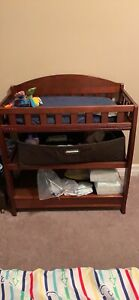 Crib bookcase/dresser and change table
