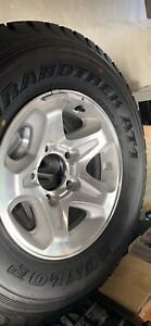Tyres and Rims - New 260/70R/115 R LT.