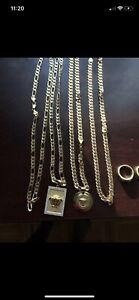 18 k gold chains