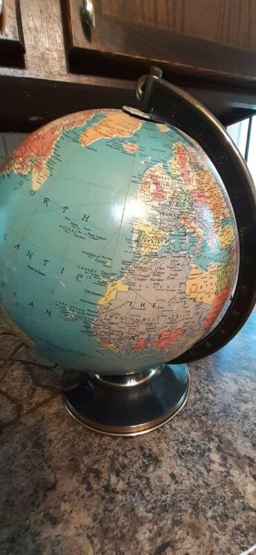 "Lighted Replogle 12"" Precision Globe 1940"