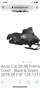 """Brand New! Arctic Cat 129""""-137"""" RR snowmobile cover"""