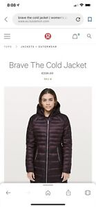 Lou Lou lemon brave the cold winter jacket