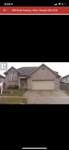 Beautiful house for sale in Paris Ontario
