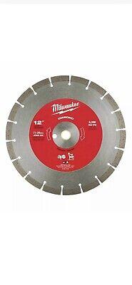 Milwaukee 49-93-7035 12 Diamond Segmented Concrete Cutting Saw Blade