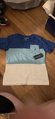 Nautica V Neck Blue & White Kids Size 4T New Condition With Tags Never Worn
