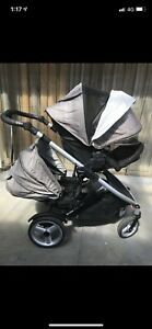 Strider Compact Pram with 2nd Seat. Will sell 2nd seat separately. Hillside Melton Area Preview