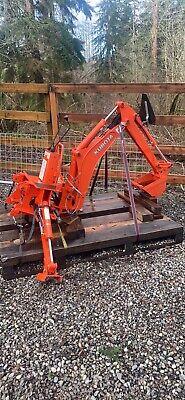 Kubota Bt601 Backhoe Used Fits Kubota Bx25 Mid-size Tractor Free Freight