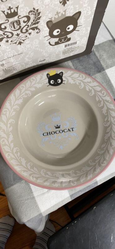 Rare Chococat bowl / flat bowl Sanrio