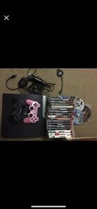 Ps3, 2 controllers & 19 games