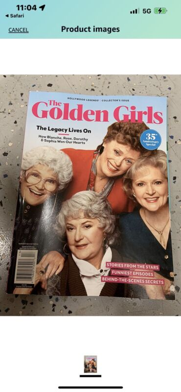 Hollywood legends The Golden Girls 2020 - 35th Anniversary (13)